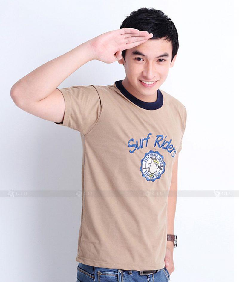 Ao Thun Nam Co Tron GLU TR108