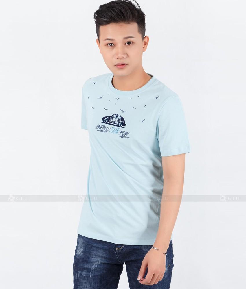 Ao Thun Nam Co Tron GLU TR110