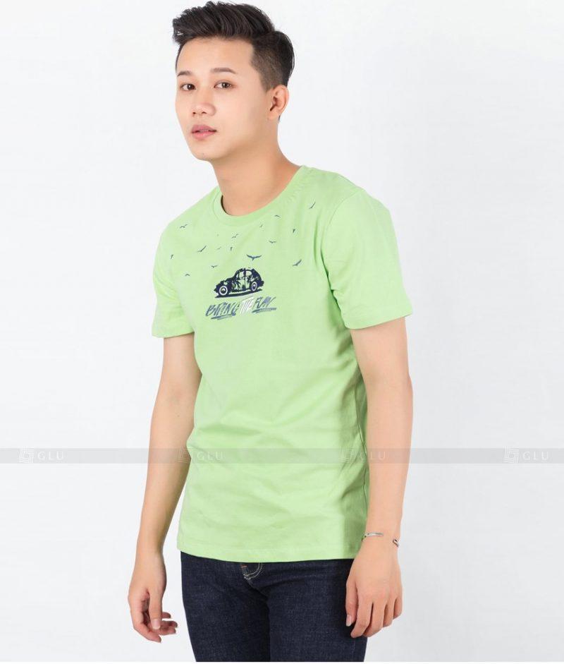 Ao Thun Nam Co Tron GLU TR111