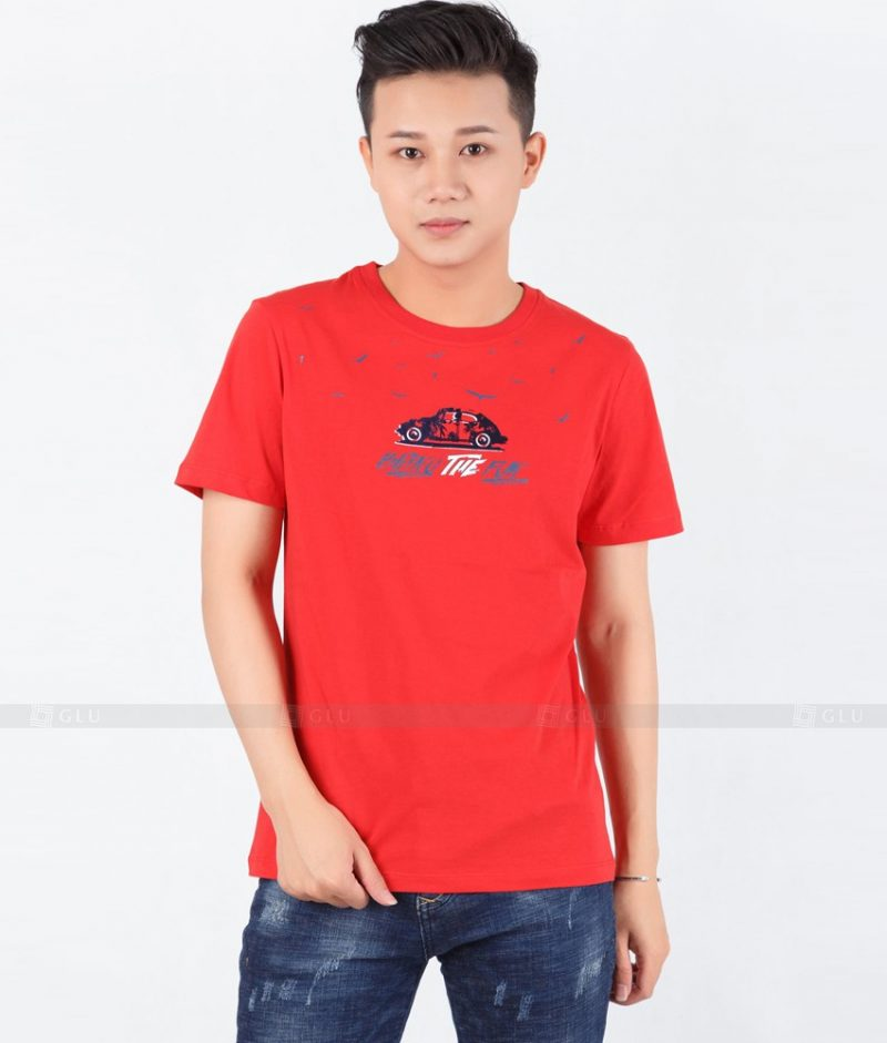 Ao Thun Nam Co Tron GLU TR112