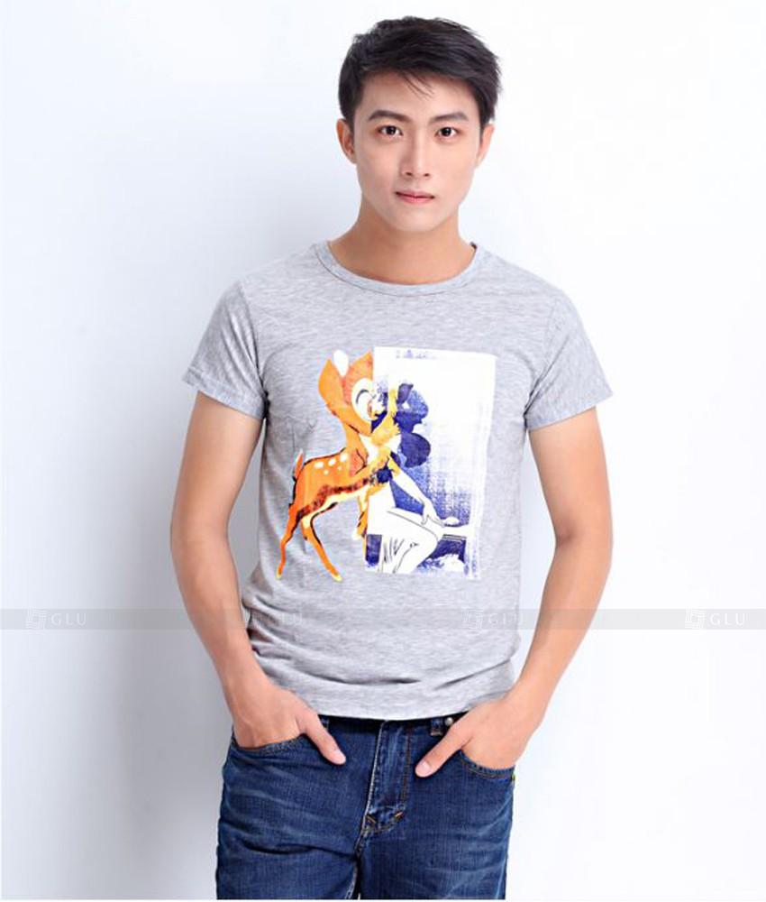 Ao Thun Nam Co Tron GLU TR115
