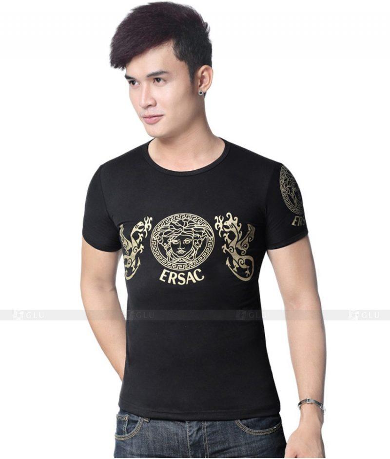 Ao Thun Nam Co Tron GLU TR116
