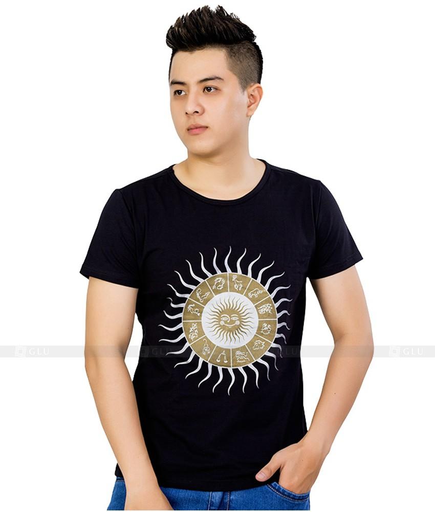 Ao Thun Nam Co Tron GLU TR119