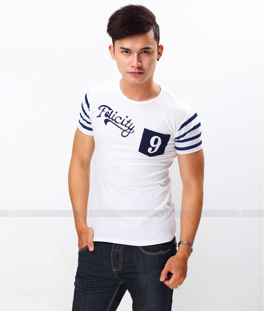 Ao Thun Nam Co Tron GLU TR129