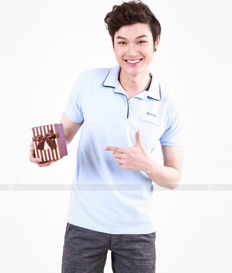 Ao Thun Nam Co Tron GLU TR13