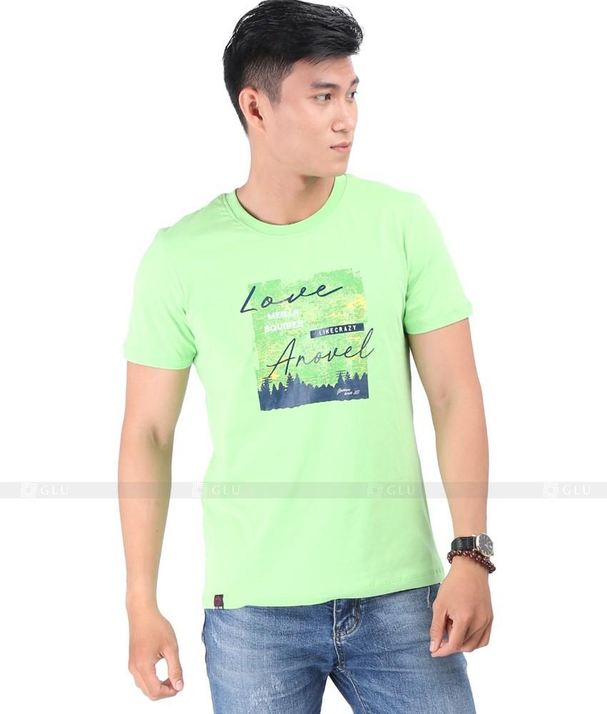Ao Thun Nam Co Tron GLU TR130