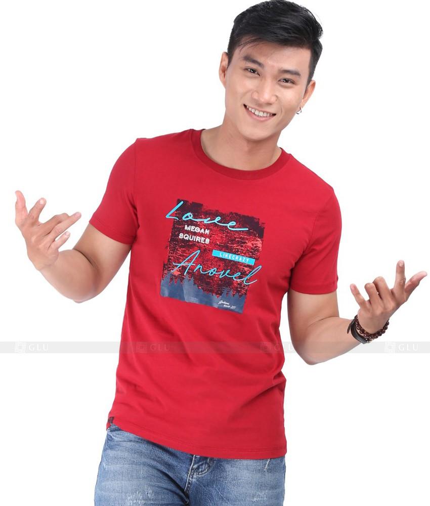 Ao Thun Nam Co Tron GLU TR131