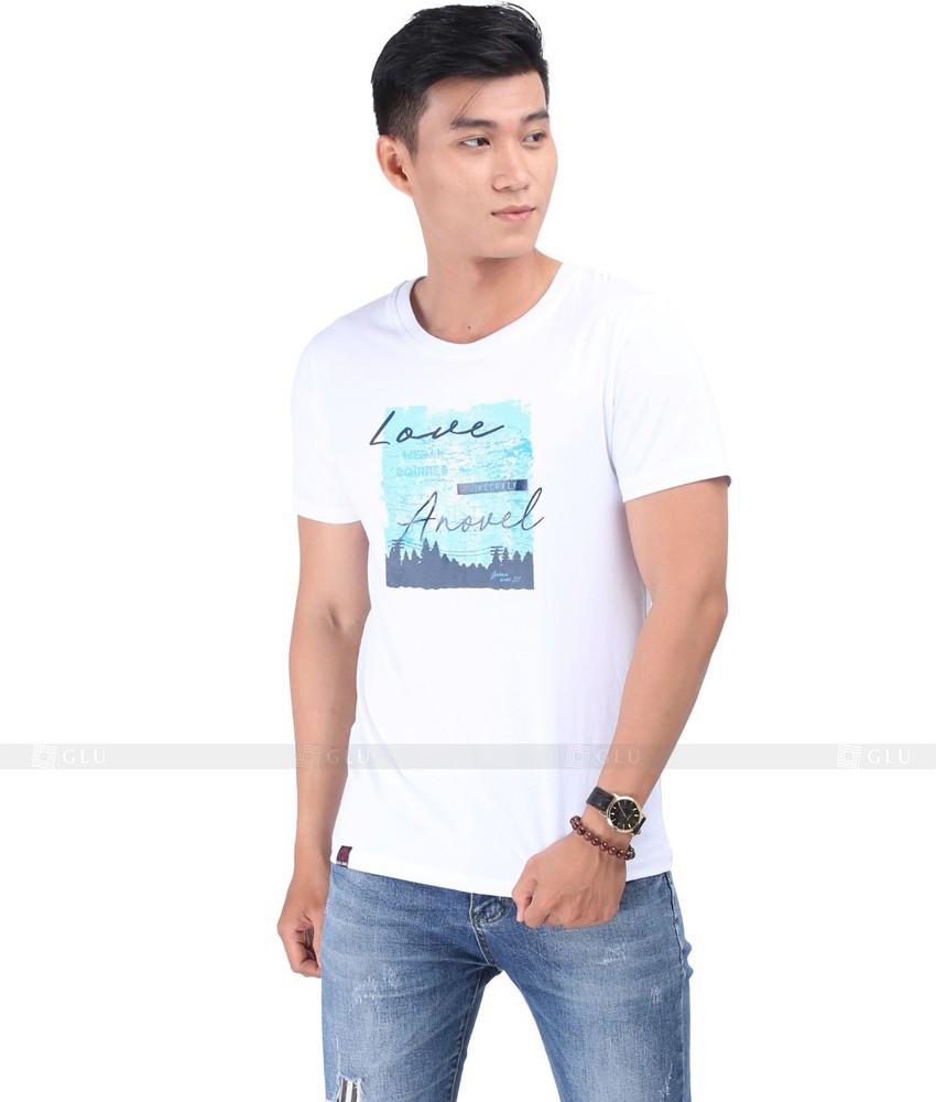 Ao Thun Nam Co Tron GLU TR133
