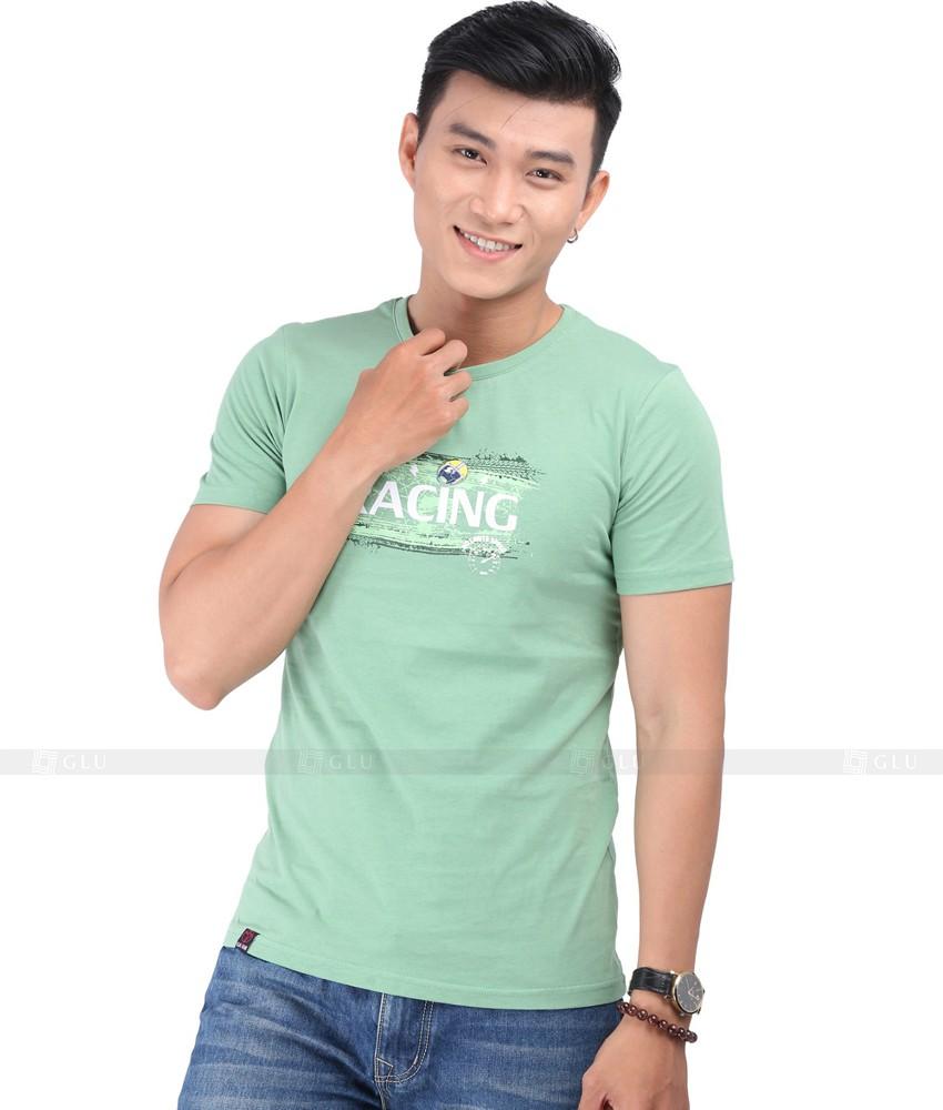 Ao Thun Nam Co Tron GLU TR138