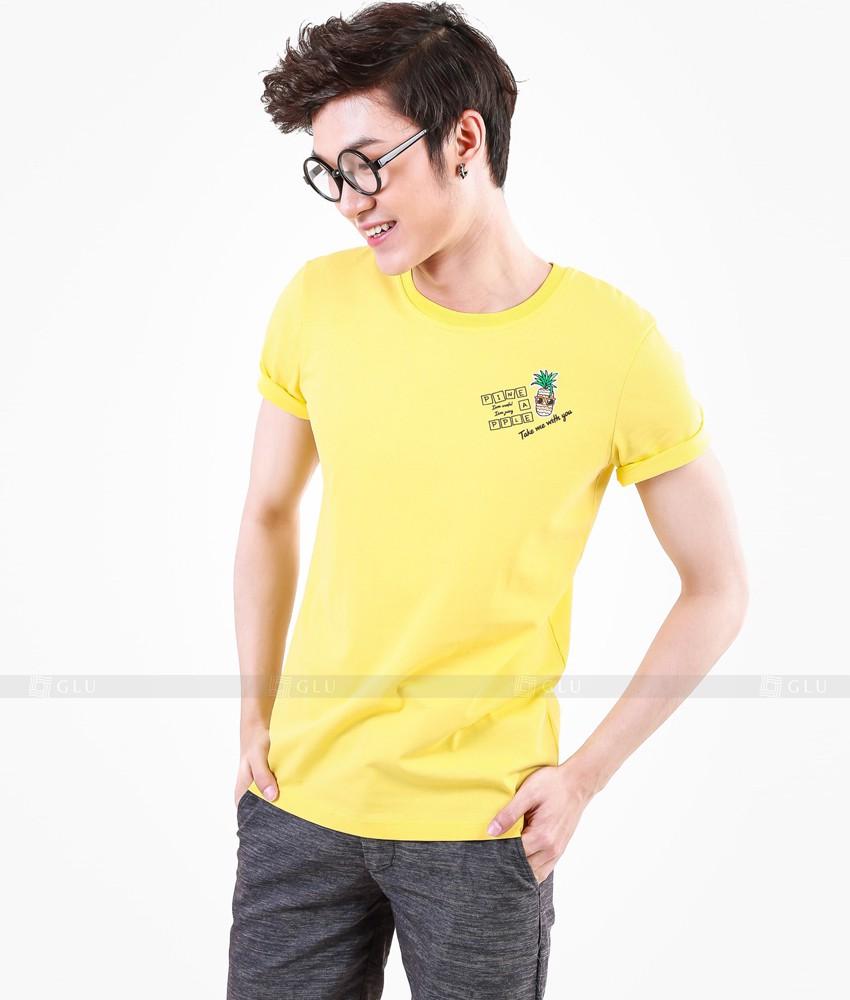 Ao Thun Nam Co Tron GLU TR14