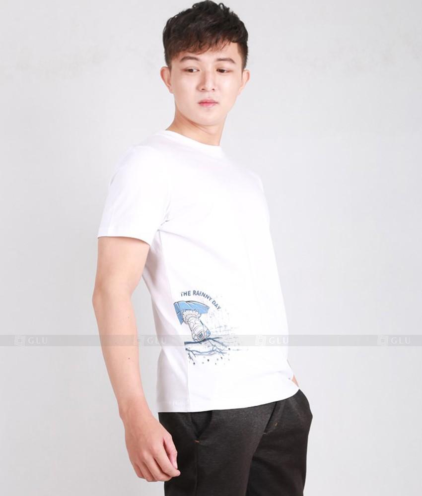 Ao Thun Nam Co Tron GLU TR143