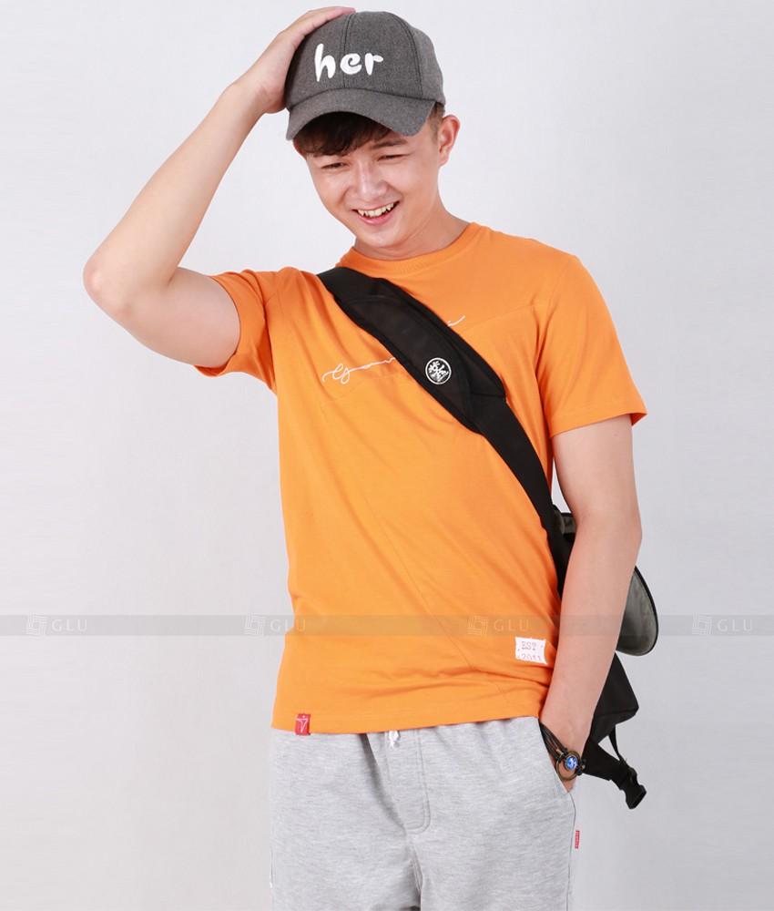 Ao Thun Nam Co Tron GLU TR145