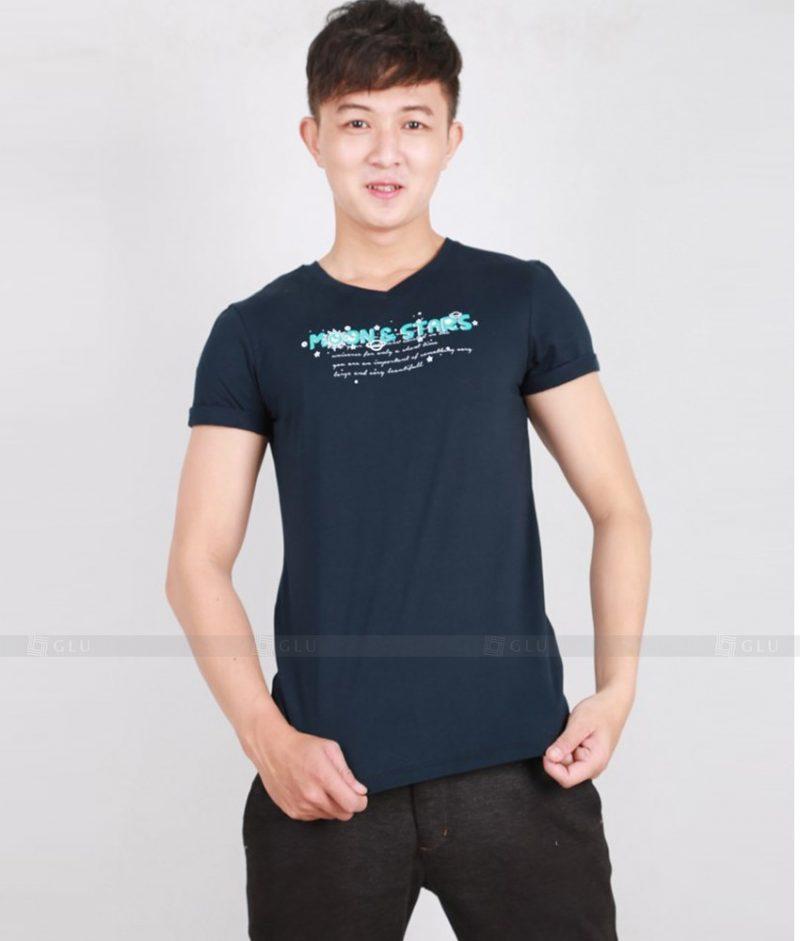 Ao Thun Nam Co Tron GLU TR154