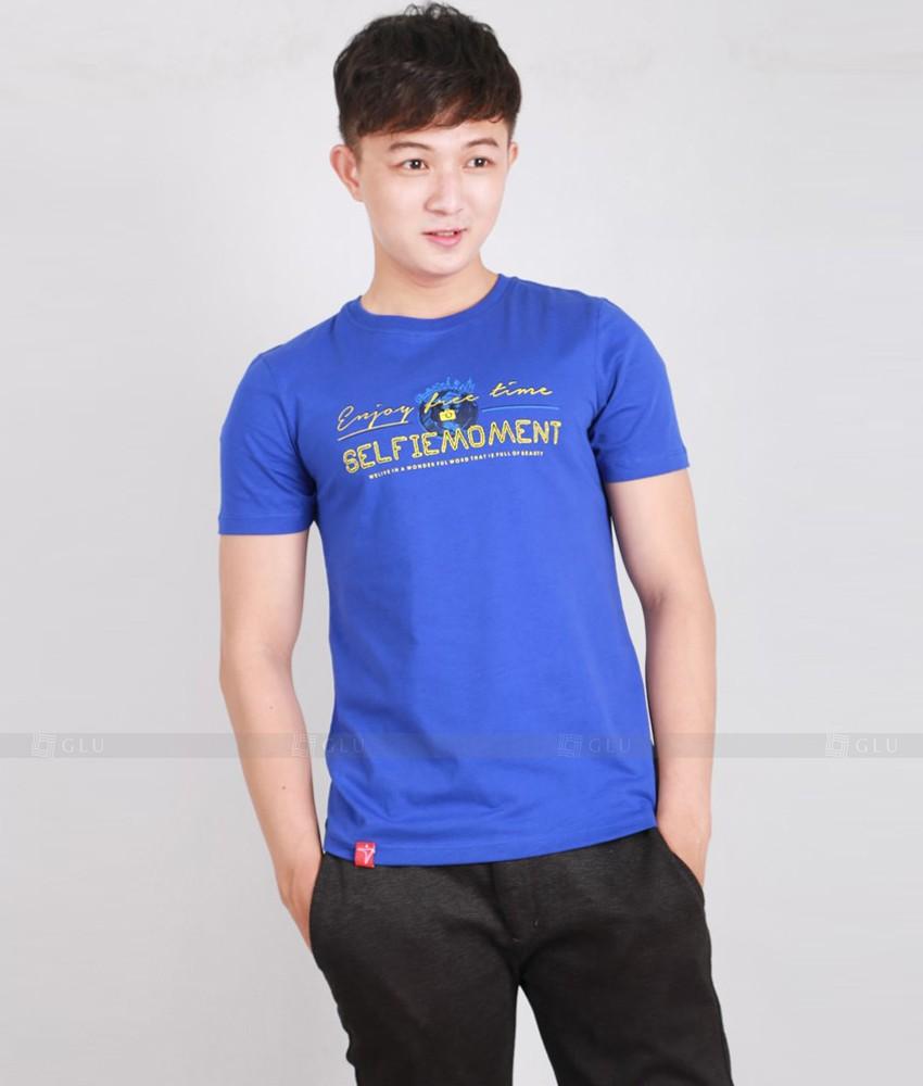 Ao Thun Nam Co Tron GLU TR159