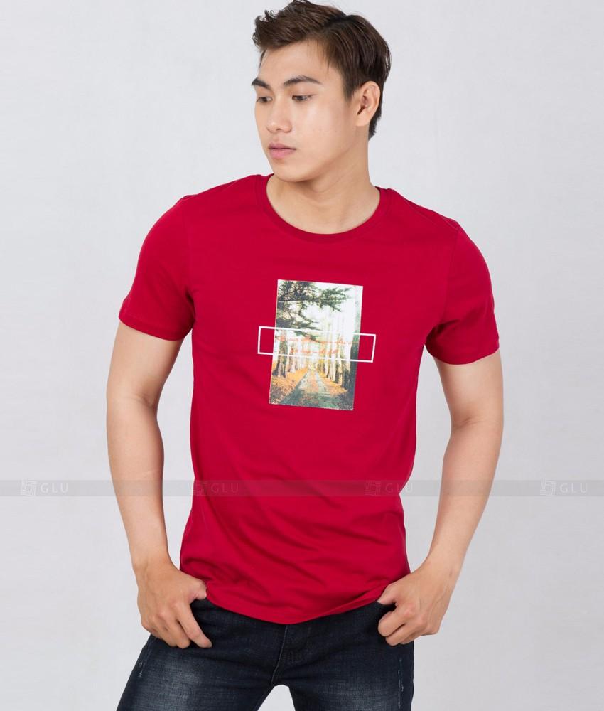 Ao Thun Nam Co Tron GLU TR162