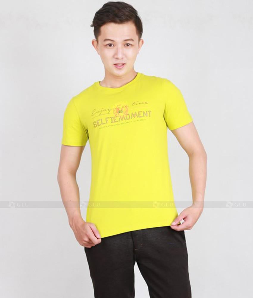 Ao Thun Nam Co Tron GLU TR165