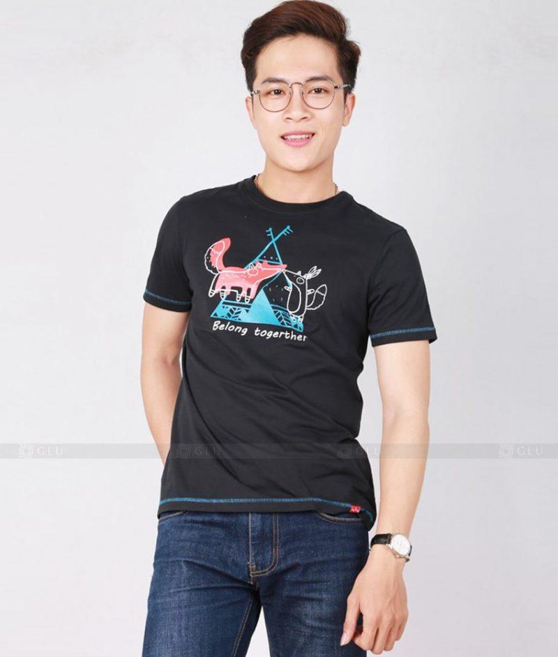 Ao Thun Nam Co Tron GLU TR166