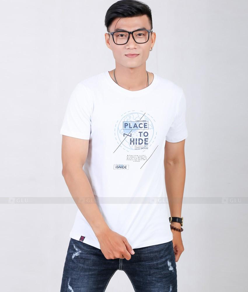 Ao Thun Nam Co Tron GLU TR168