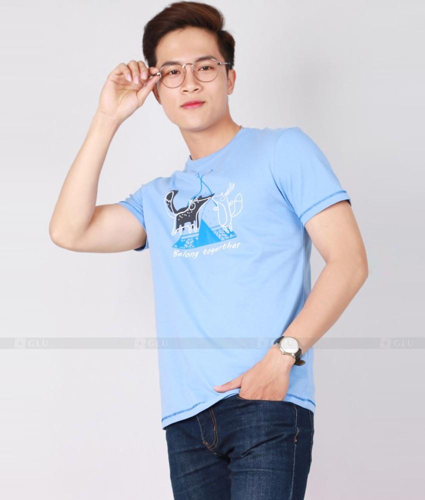 Ao Thun Nam Co Tron GLU TR169