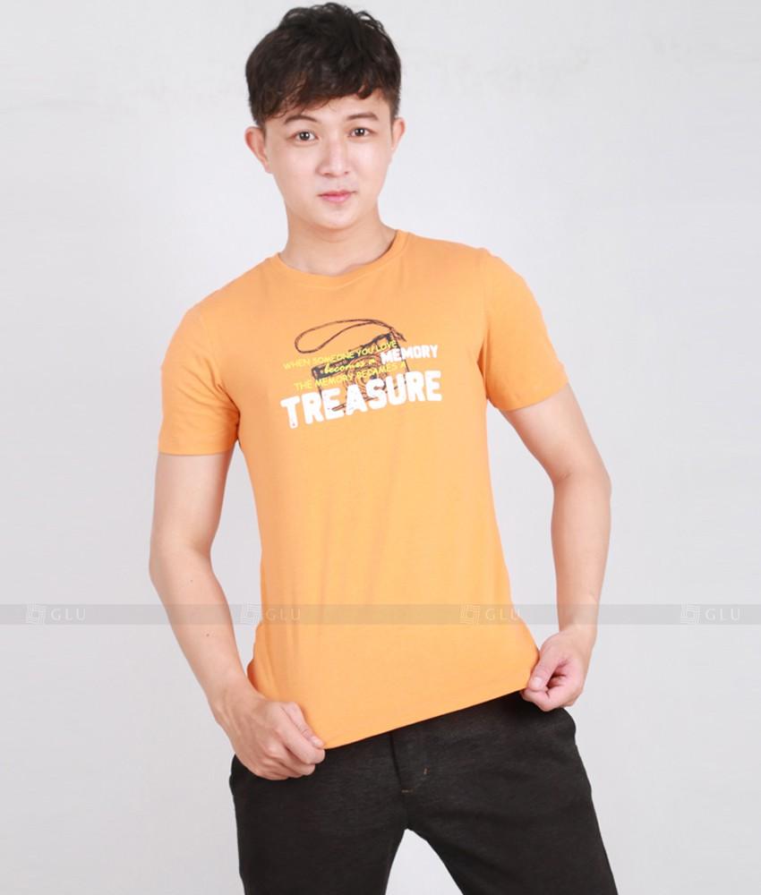 Ao Thun Nam Co Tron GLU TR171