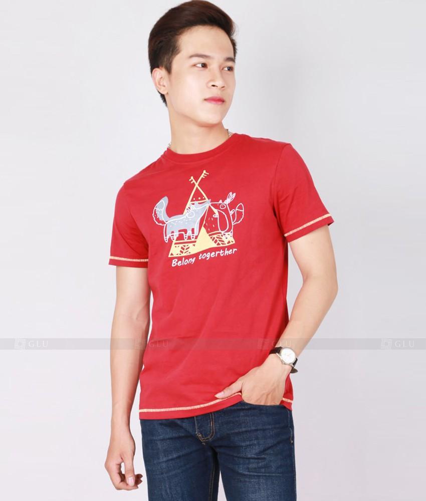 Ao Thun Nam Co Tron GLU TR172