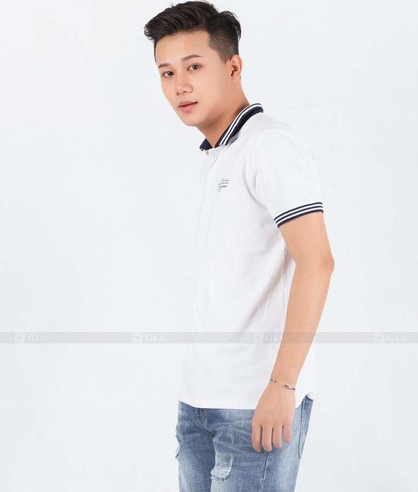 Ao Thun Nam Co Tron GLU TR19