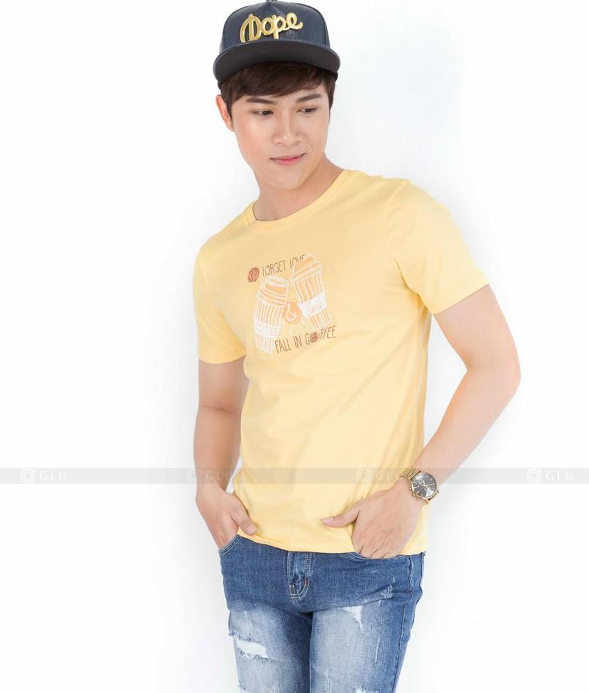 Ao Thun Nam Co Tron GLU TR33