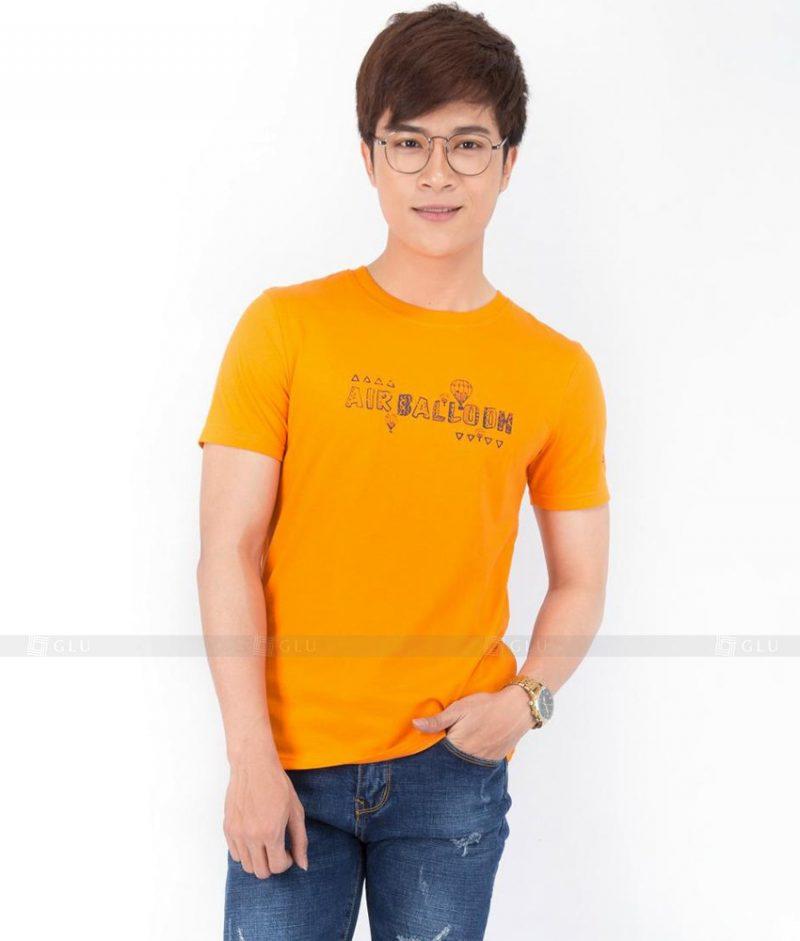 Ao Thun Nam Co Tron GLU TR35