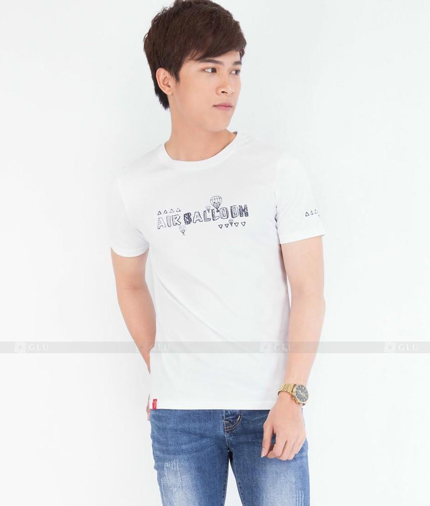 Ao Thun Nam Co Tron GLU TR36