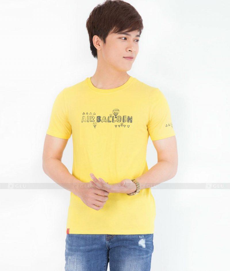 Ao Thun Nam Co Tron GLU TR37