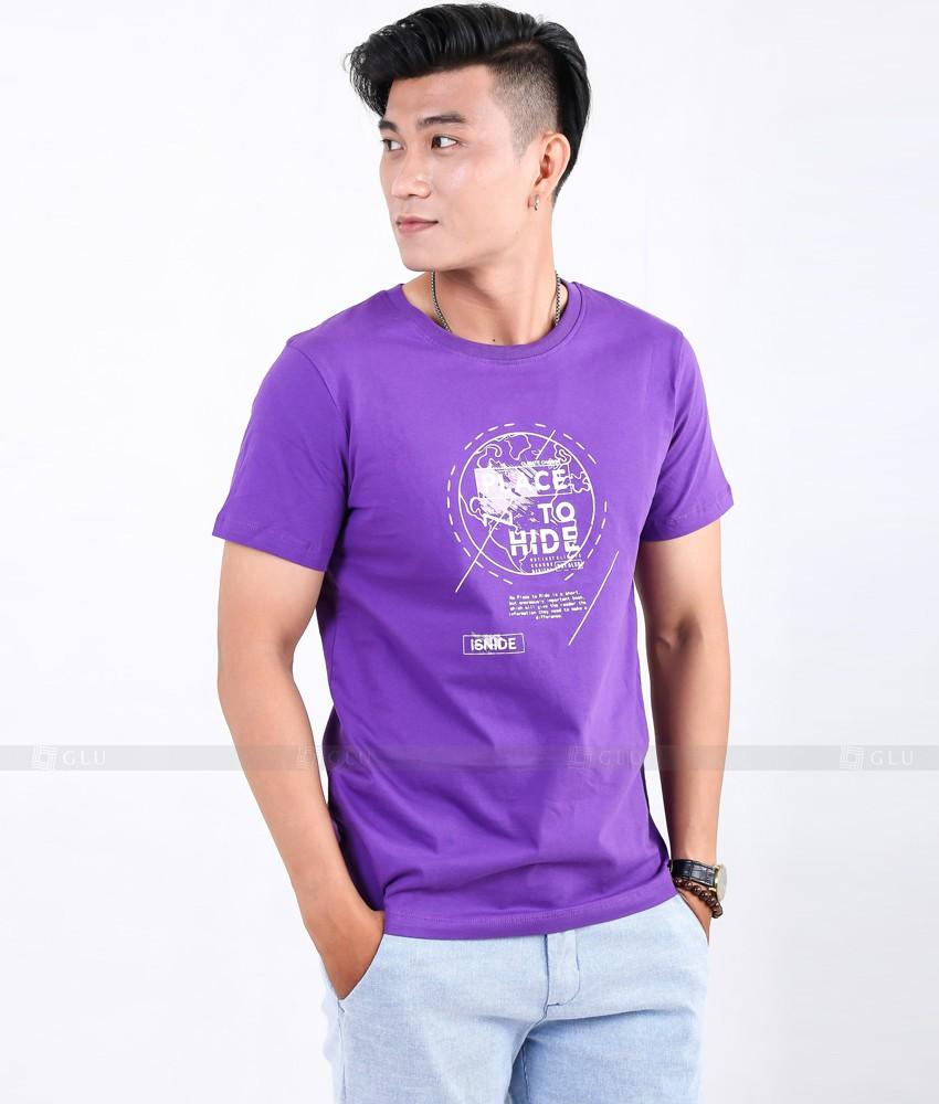 Ao Thun Nam Co Tron GLU TR40