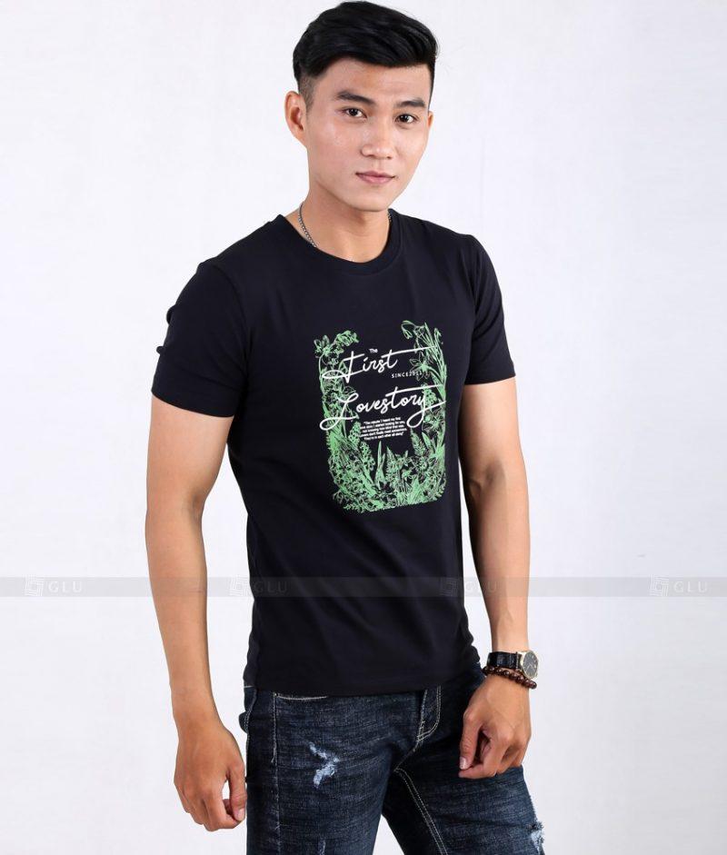 Ao Thun Nam Co Tron GLU TR42