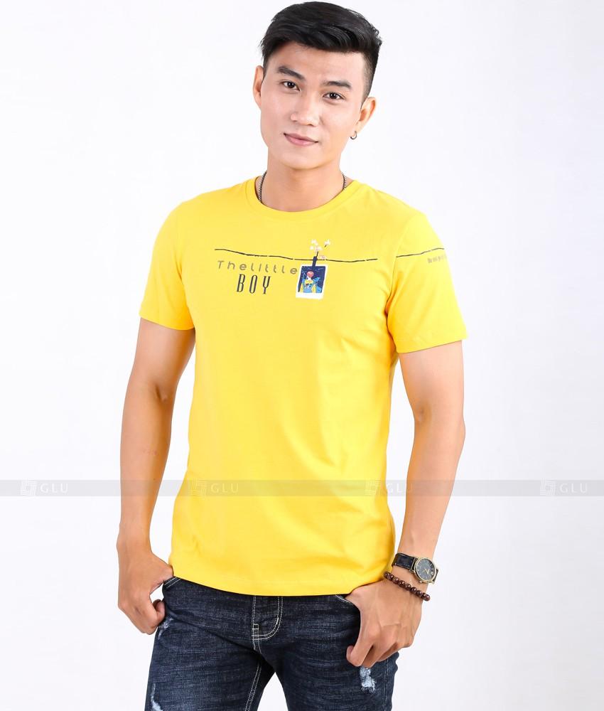 Ao Thun Nam Co Tron GLU TR43