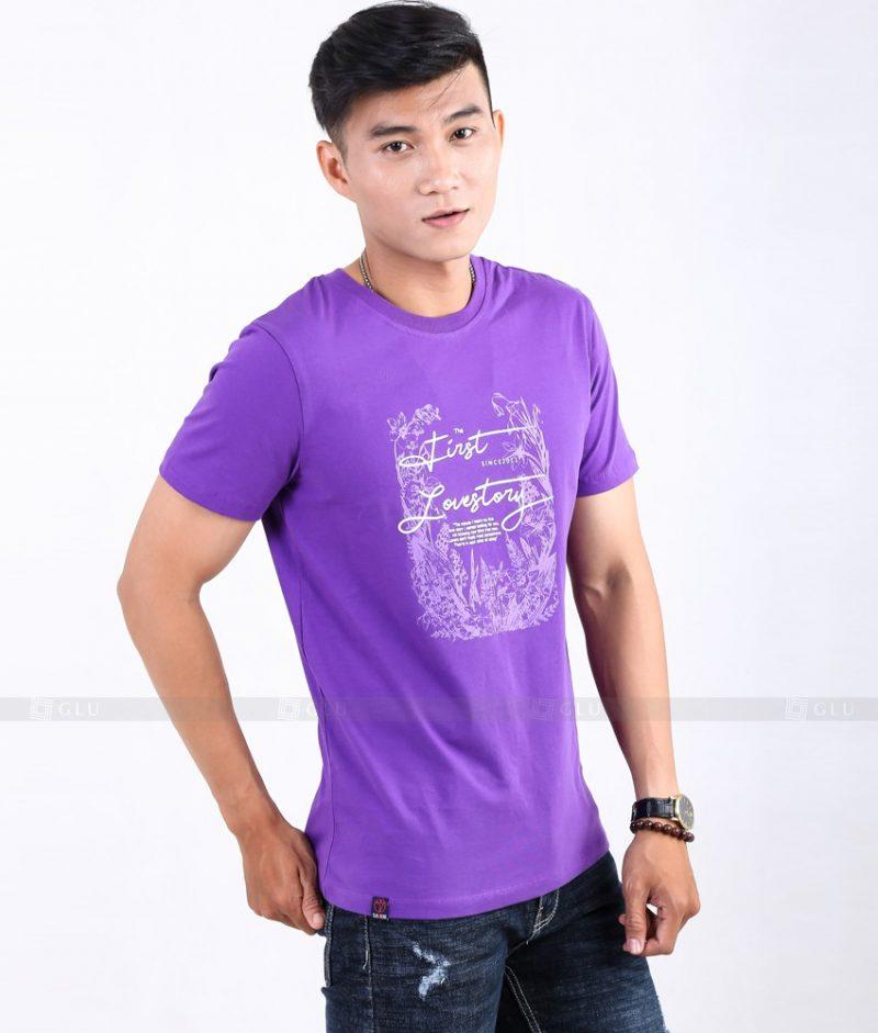 Ao Thun Nam Co Tron GLU TR45
