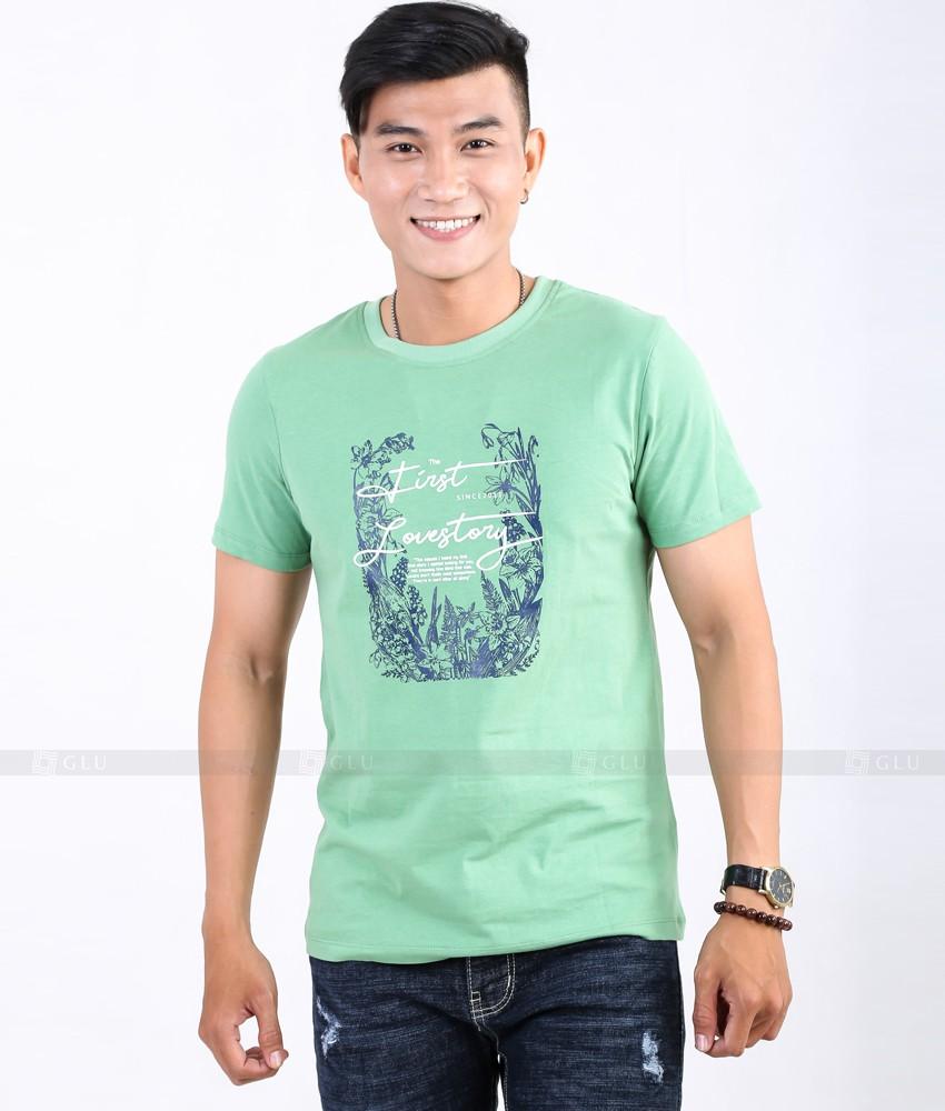 Ao Thun Nam Co Tron GLU TR47