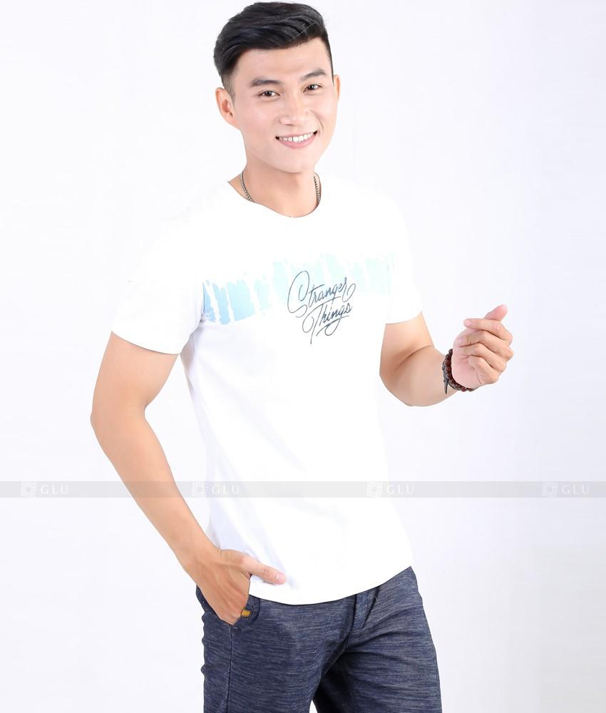 Ao Thun Nam Co Tron GLU TR49