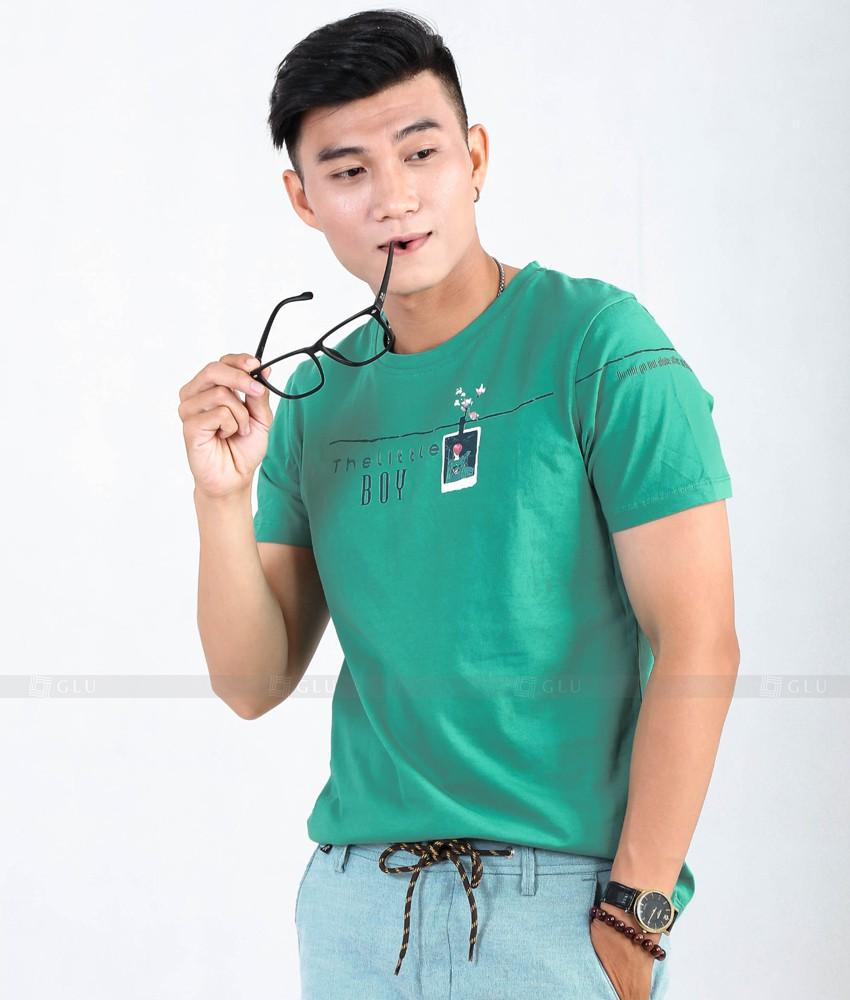 Ao Thun Nam Co Tron GLU TR51