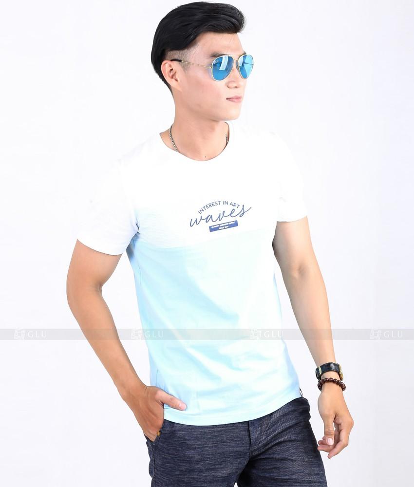 Ao Thun Nam Co Tron GLU TR52