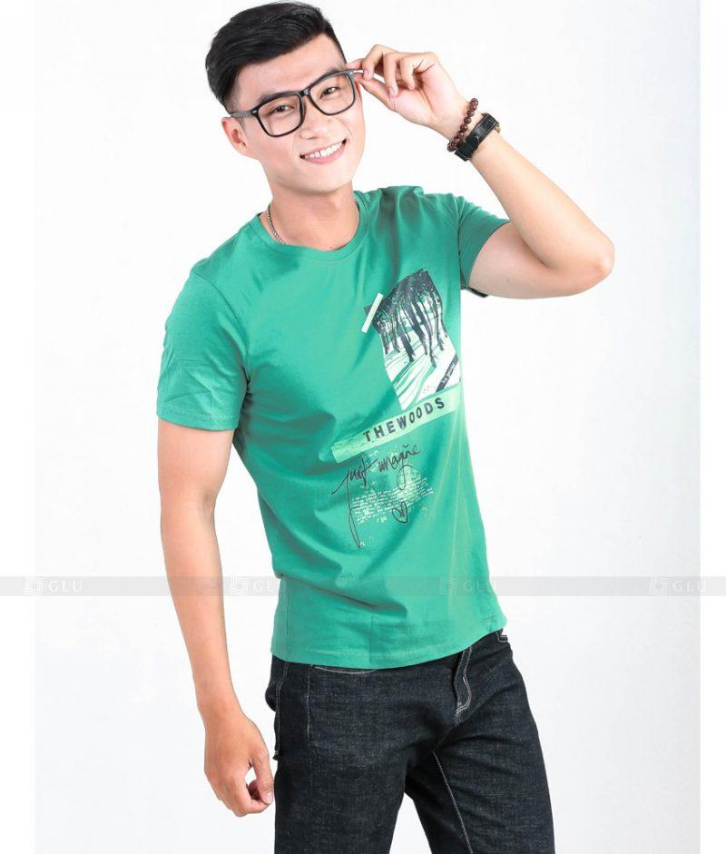 Ao Thun Nam Co Tron GLU TR53