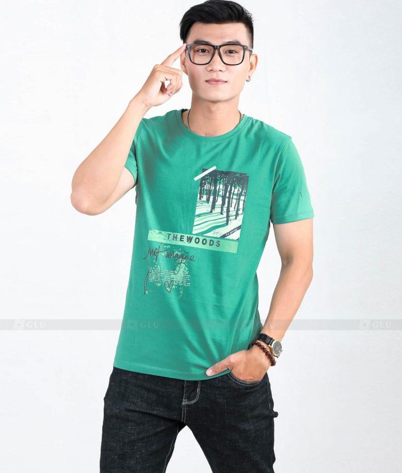 Ao Thun Nam Co Tron GLU TR54