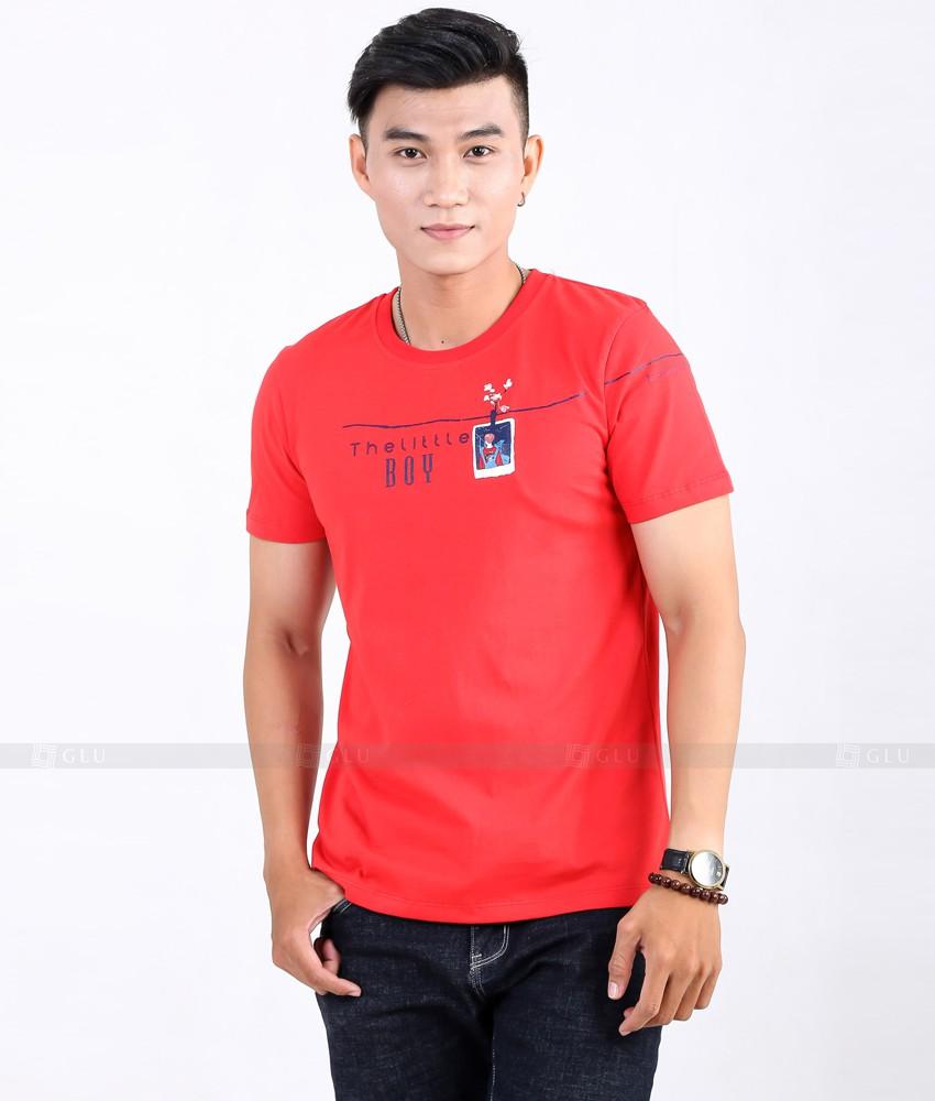 Ao Thun Nam Co Tron GLU TR55