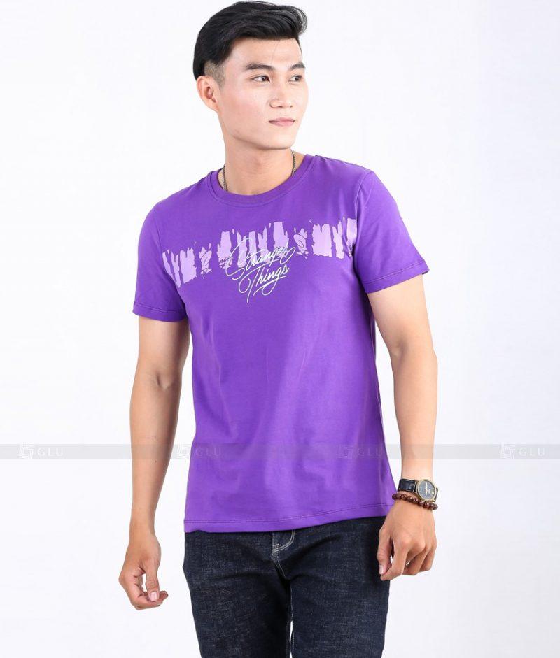 Ao Thun Nam Co Tron GLU TR56