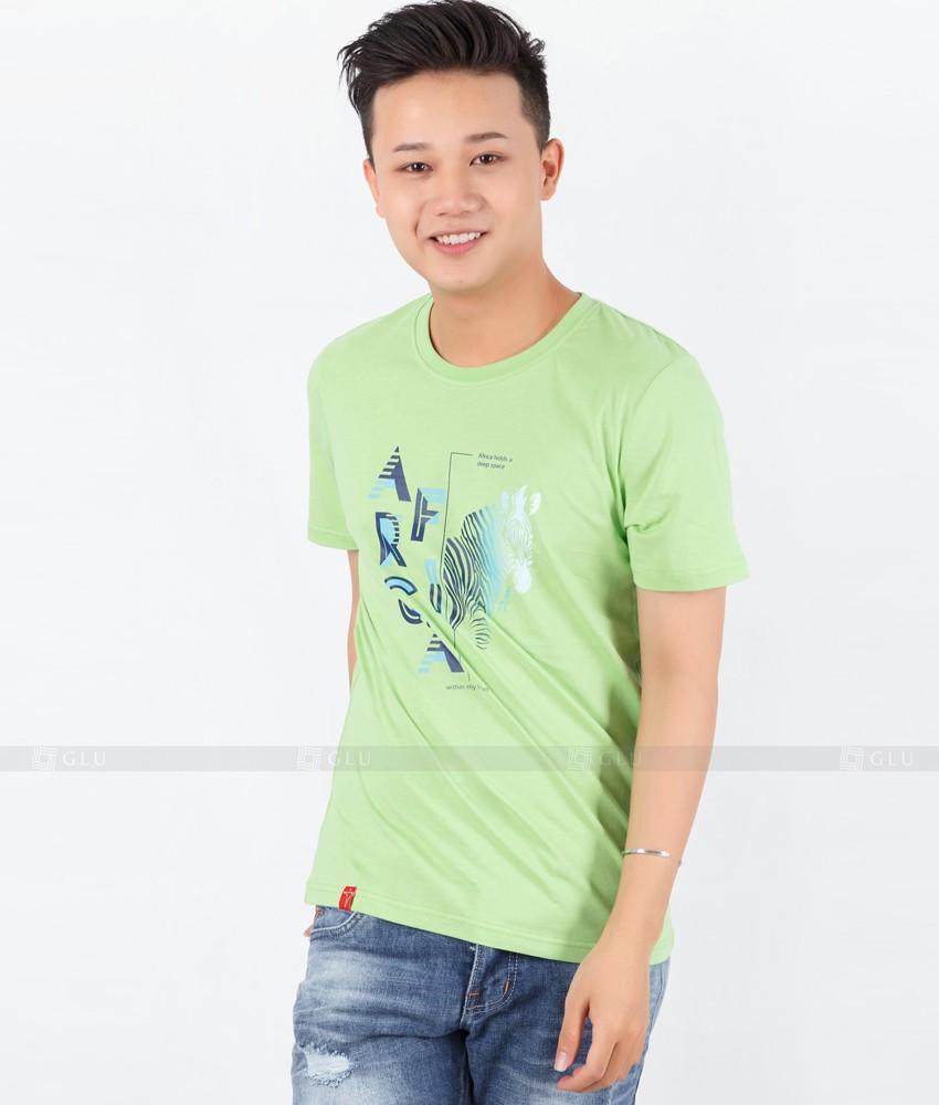 Ao Thun Nam Co Tron GLU TR57