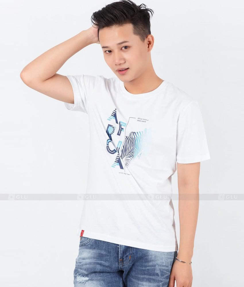 Ao Thun Nam Co Tron GLU TR59