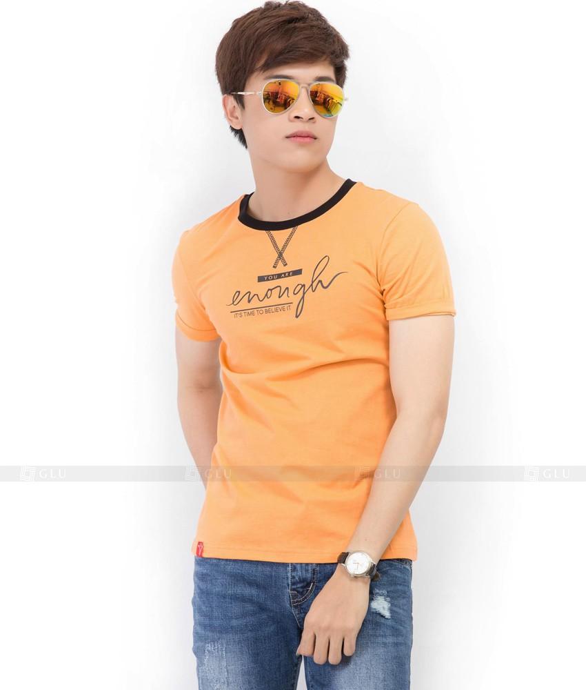 Ao Thun Nam Co Tron GLU TR61