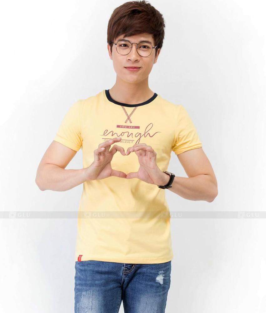 Ao Thun Nam Co Tron GLU TR62