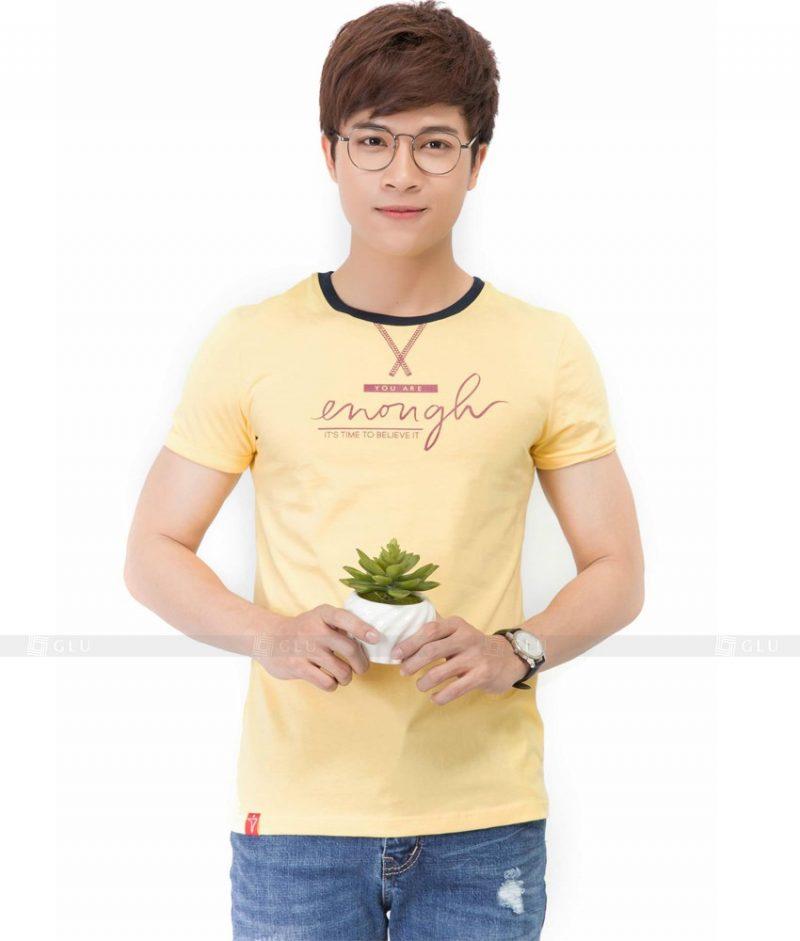 Ao Thun Nam Co Tron GLU TR63