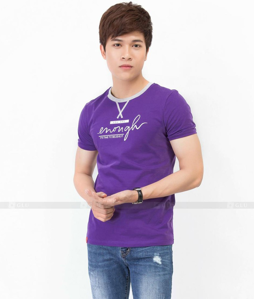 Ao Thun Nam Co Tron GLU TR64