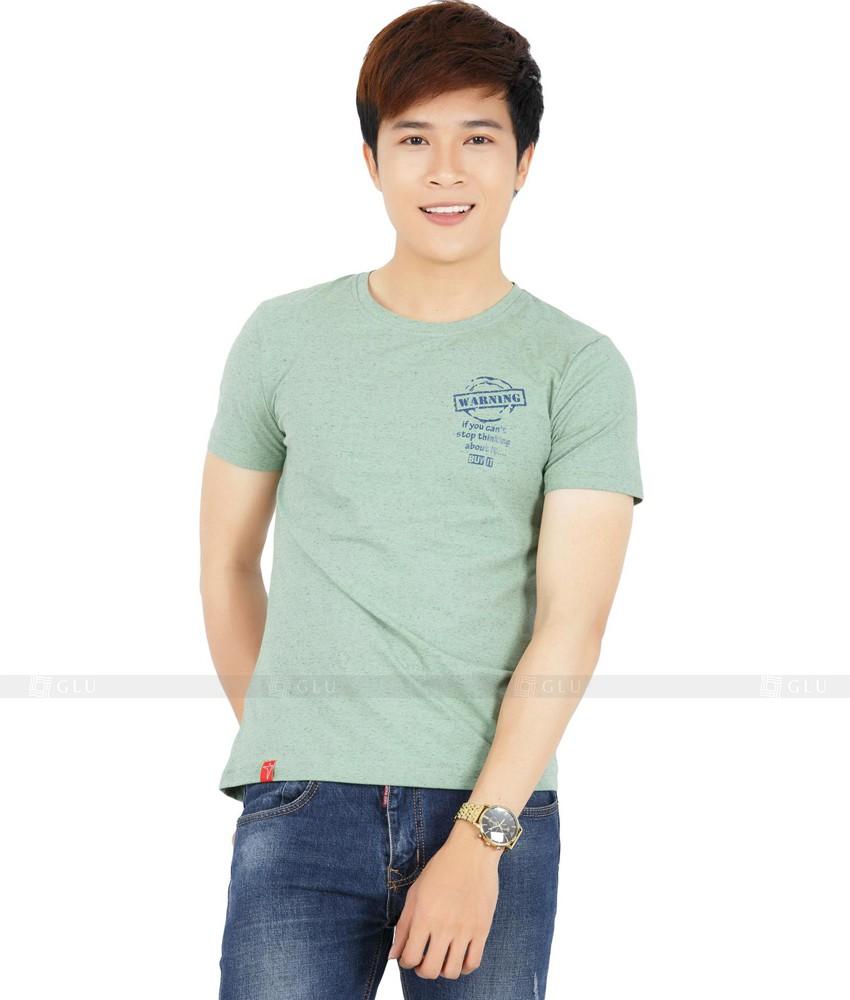 Ao Thun Nam Co Tron GLU TR71