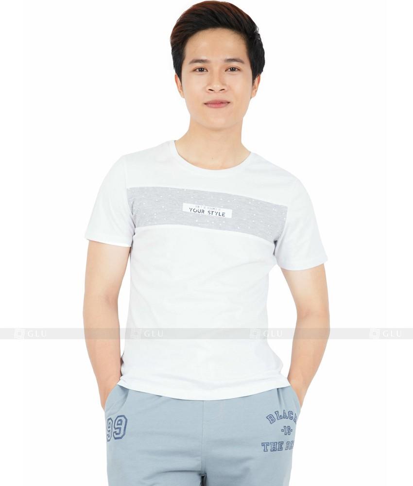 Ao Thun Nam Co Tron GLU TR74